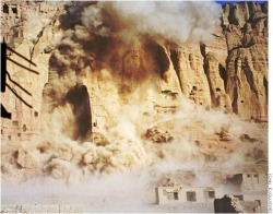 Themenbild. Von den Taliban zerstörte Buddha-Statuen