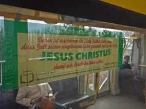 Halleluja, keine religiöse Werbung!