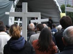 1000 Kreuze in Berlin 2008/Quelle: Brights Berlin