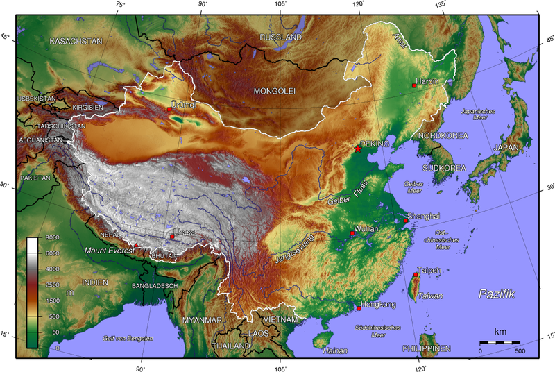 China topologisch (CC-by-sa/3.0 by Dubaduba, Wiki Commons)