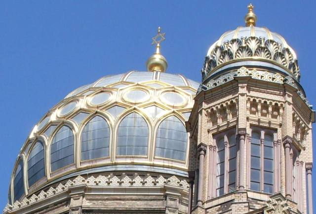 Synagoge in Berlin. Themenbild Bild: bb