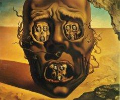 Das Gesicht des Krieges, S. Dali 1940