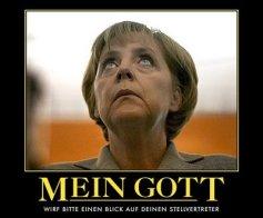 Gottesstaat Deutschland geführt von Bischöfin Merkel