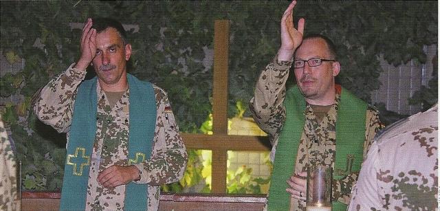 Militärpfarrer spenden gemeinsam den Segen