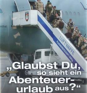Plakat der Militärseelsorge der Bundeswehr, Bild: brightsblog