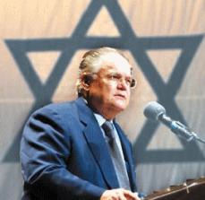 Johne Hagee, evangelikaler Pastor u. Christians-United -for-Israel(CUFI)-Gründer;