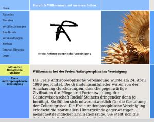 Freie Anthroposophen, Screenshot brightsblog