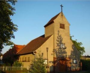 Die Kirche St. Bernhard wird auf Ebay und ähnlichen Internet-Portalen zum Verkauf angeboten.Foto: Erzbistum Berlin