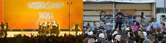 Veranstaltung von Salafisten in Koblenz 2012Foto: Schängel/Wikipedia