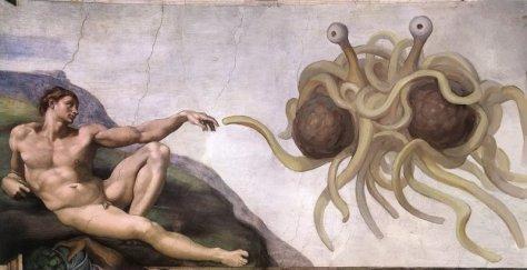 Spaghettimonster_and_adam
