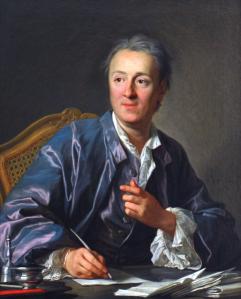 Denis Diderot, 5. Okt. 1713 - 31. Jul. 1784 (Bild: Sammlung Diderot, Louvre Paris)