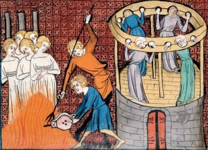 Folter im Mittelalter (Bild: public domain)