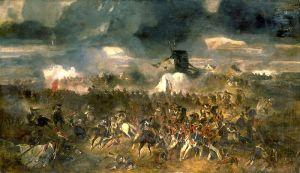 Clément-Auguste Andrieux - La bataille de Waterloo (Public Domain)