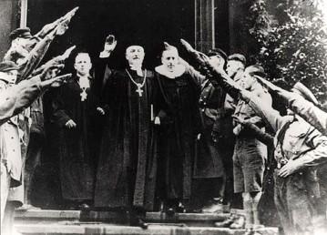 1933, Bischof Friedrich Coch, Vereinsgeistlicher d. Inneren Mission, Luth. Kirche Sachsen. Themenbild: fundamentalismus debatte .de