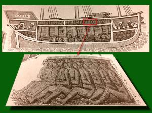 Sklavenschiff (Bild: Public Domain)