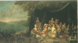 """Eine Frage des Korans oder des Maßes? """"Feiernde Türken vor einem Zelt"""", wie sie Jean-Baptiste Vanmour (1671-1737) in Istanbul darstellte. Bild: Amsterdam Rijksmuseum"""