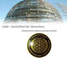 HP des Gerichtshofs, Screenshot: bb