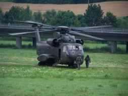 Hubschrauber des Heeres/Hammelburg Bild: bb