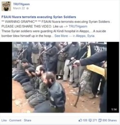"""Facebook wolle den """"Diskurs"""" ermöglichen und löscht gewaltverherrlichende Videos deshalb nicht immer. Screenshot: derStandard.at"""