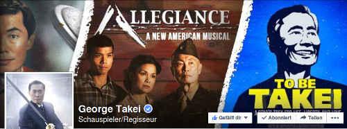George Takei on Facebook. Screenshot: BB