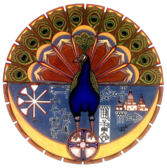 Pfau-Engel der Jesiden
