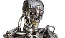 The Terminator films envisage a future in which robots have become sentient and are at war with humankind. Ray Kurzweil thinks that machines could become 'conscious' by 2029 but is optimistic about the implications for humans. Photograph: Solent News/Rex