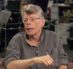 Stephen King, Image:HUFFPOST Live/Screengrab:BB