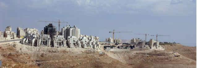 Siedlungen, Themenbild. Image: Times of Israel/Screencrab:BB