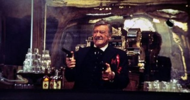 John Wayne, The Shootist, 1976