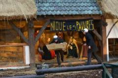 Symbolbild. Verschleppung des Jesuskindes aus der Krippe auf der Brüsseler Grand Place Bild: katholisches.info
