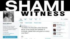 @ShamiWitness Screenshot:Twittert