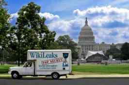 foto: flickr.com/wikileakstruck (CC-Lizenz) Wikileaks ist überall - und da lesen die Behörden natürlich gerne mit.