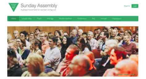 HP der Sunday Assembly, Screenshot: BB