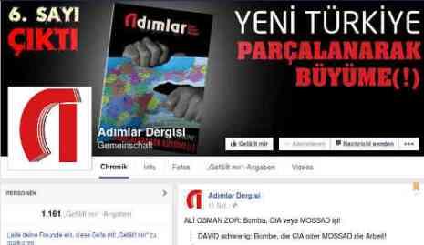 Man unterstellt dem dem CIA oder Mossad die Bombe. FB-Seite des Magazins. Schreenshot: bb