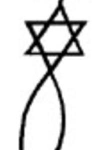 Leuchter, der Davidstern und der Fisch. Messianische Juden