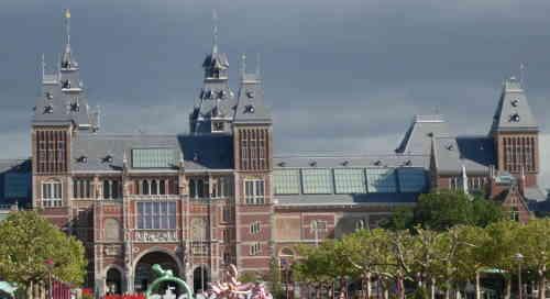 Amsterdam, Rijksmuseum. Bild:bb
