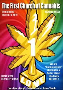 Bild. First Church of Cannabis/FB