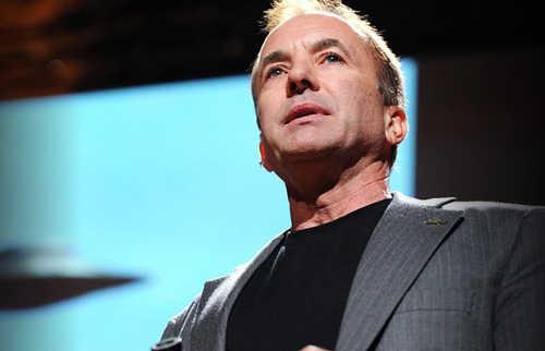 Michael Shermer. Bild: ted.com, Screengrab. bb
