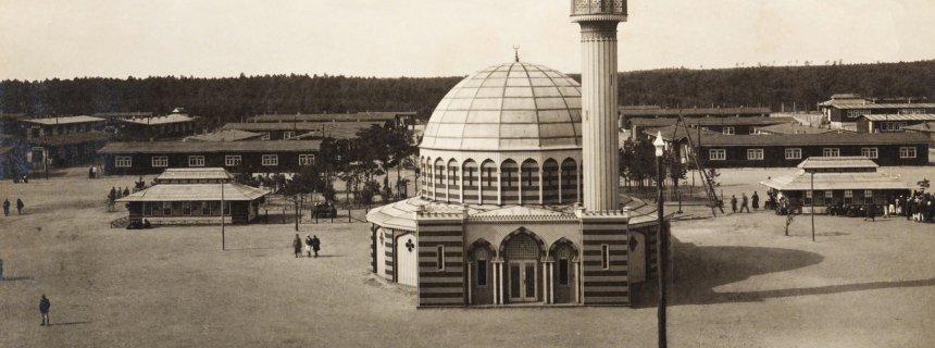 Gefangenen-Lager Wünsdorf, erste Moschee in Deutschland Museum Europäischer Kulturen/Otto Stiehl
