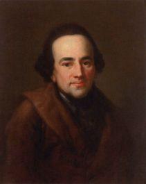 Moses Mendelssohn (1771, Porträt von Anton Graff, Kunstbesitz der Universität Leipzig) PD