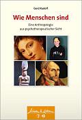 Gerd Rudolf Wie Menschen sind  Verlag: Schattauer, Köln 2015 ISBN: 9783794531271 24,99 €