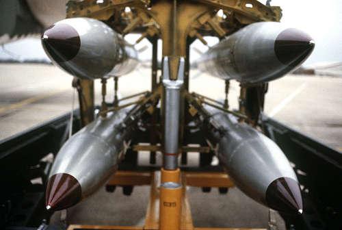 B-61 Bomben. Bild: DoD