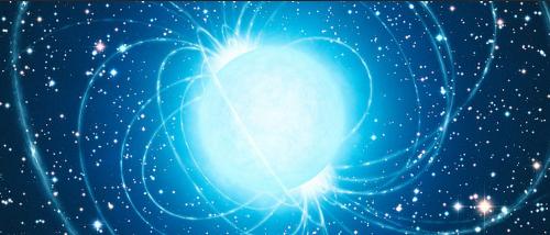 Magnetar. Bild: Wikimedia, ESO/L. Calçada | CC BY 4.0