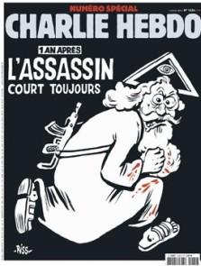 Das aktuelle Cover der Satirezeitschrift Charlie Hebdo. (Foto: Charlie Hebdo/AFP)