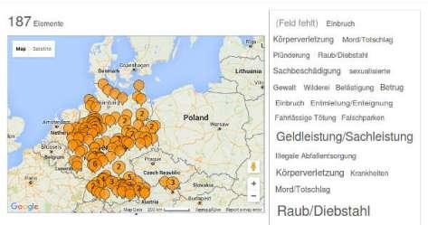 Bild. hoaxmap.org/Screenshot:bb