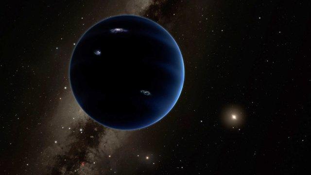 Planet IX, Bild: Credit California Institute of Techonology