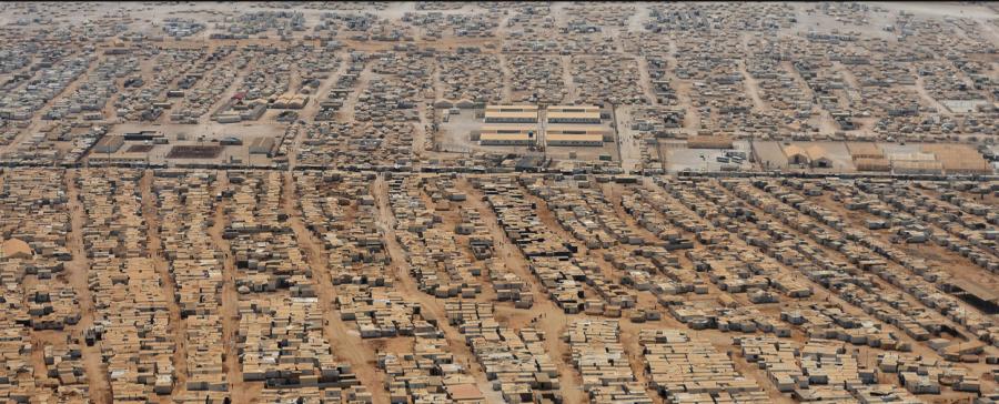 Themenbild. Flüchtlingslager Zaatari, Jordanien. Bild: AP AFP Pool watson.ch