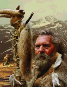 Vorstellung vom Aussehen der Steinzeit-Menschen, deren Erbgut in der Studie analysiert wurde. Grafik: Stefano Ricci, Università degli Studi di Siena