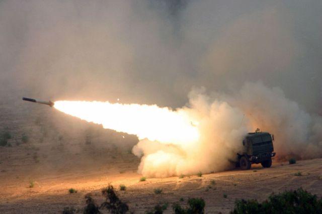 Das Pentagon schickt das High Mobility Artillery Rocket System (HIMARS) nach Syrien und in den Irak. Bild: DoD
