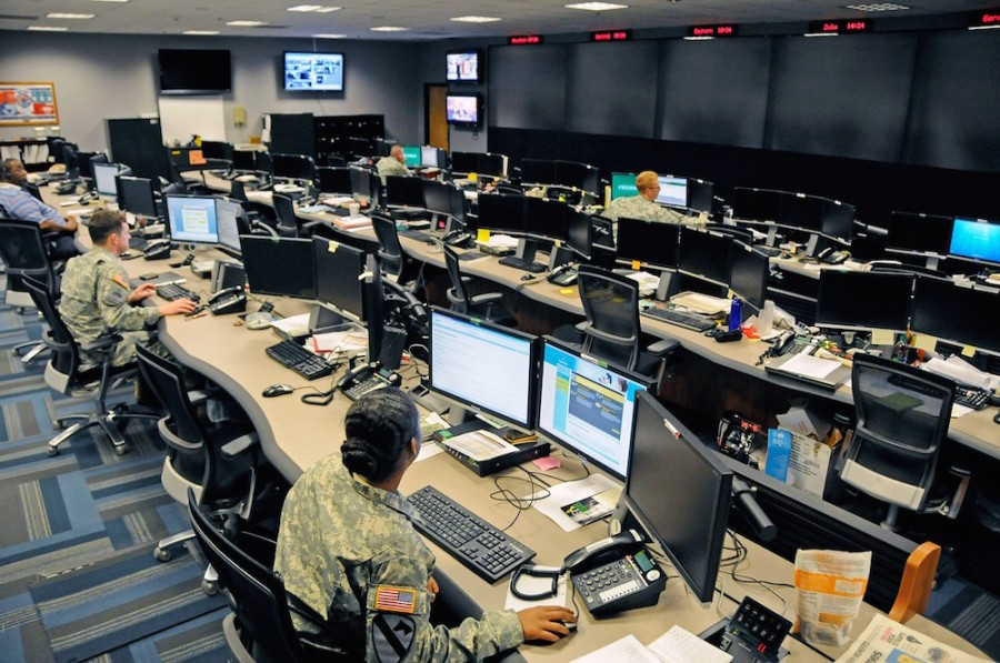 The US Army's Cyber Operations Center at Fort Gordon in Georgia. Photo: US Army